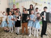 Музыкальная школа в гостях у дошколят!